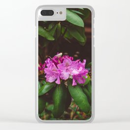 Brooklyn Heights Blooms II Clear iPhone Case