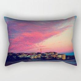 Bondi Beach Australia sunset Rectangular Pillow