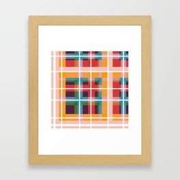 Geometric Shape 07 Framed Art Print