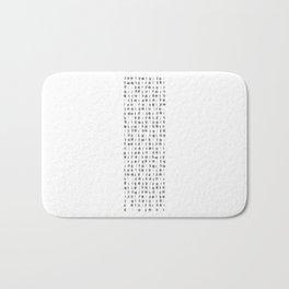 2014 Crisis Calendar White Bath Mat