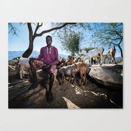 Youth livelihood Canvas Print