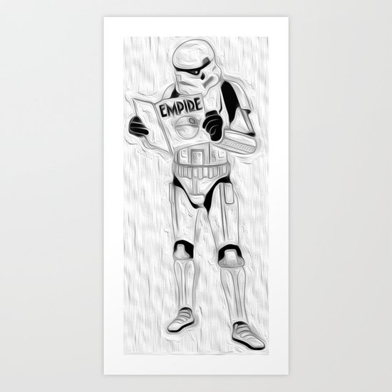 trooper empire Art Print