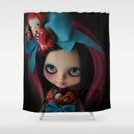 MODERN GEISHA CUSTOM BLYTHE DOLL KENNER  Shower Curtain