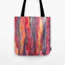 Behind City Life - Watercolor art painting Tote Bag