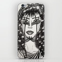 Warrior Art iPhone Skin