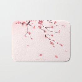Oriental cherry blossom in spring 002 Bath Mat