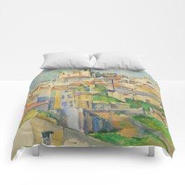 Paul Cezanne Gardanne 1886 Comforters