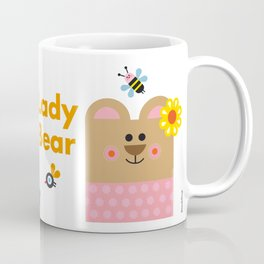 Lady Bear Coffee Mug
