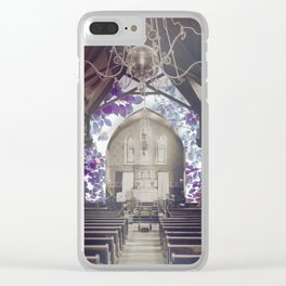 chapel song Clear iPhone Case