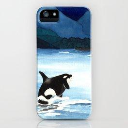 Orca Breach iPhone Case