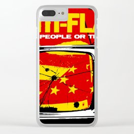 ANTI FLAG THE PEOPLE OR THE GUN TOUR DATES 2019 BAKPAU Clear iPhone Case