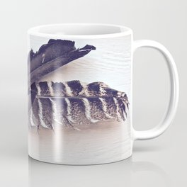 Sacred Smudging, Feather Fan Coffee Mug