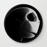 nightmare Wall Clocks featuring Nightmare by Crumblin' Cookie