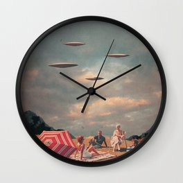 Pretend They Never Came Wall Clock
