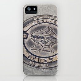 Alien Iron Works iPhone Case