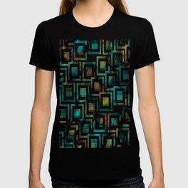 Black and White Squares Pattern 03 T-shirt