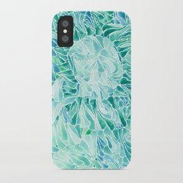 FERNING: Aqua ferns (2015) iPhone Case