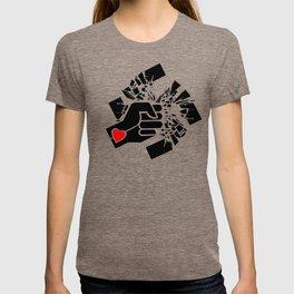 Obliterate Hate w/ Love (women) T-shirt