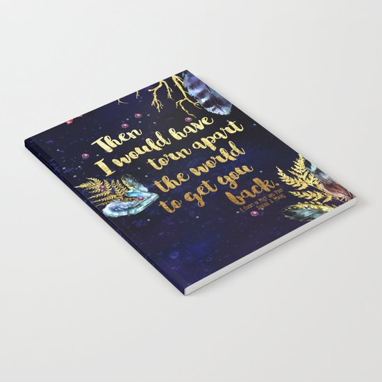 ACOMAF - Torn Apart The World Notebook