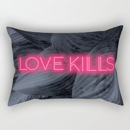 Love Kills Rectangular Pillow