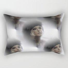 seamless doll -2- Rectangular Pillow