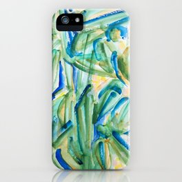 Tropical Plants iPhone Case