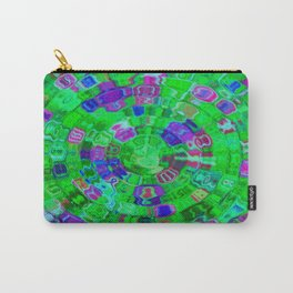 Mosaic Gems Emerald Carry-All Pouch