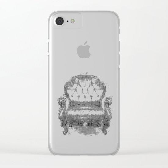 Sit a Bit! Clear iPhone Case