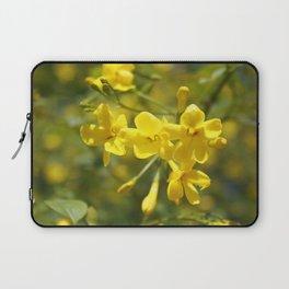 Fragrant Yellow Flowers Of Carolina Jasmine Laptop Sleeve
