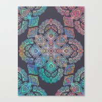 boho Canvas Prints featuring Boho Intense by micklyn