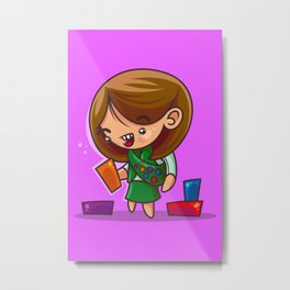 Girl Scout Goodness Metal Print