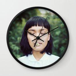 Tasting Flower Wall Clock