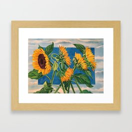 Sunny Skies Framed Art Print