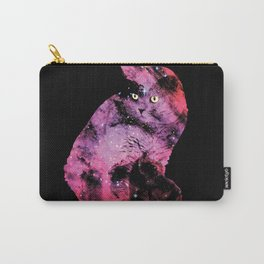 Celestial Cat - The British Shorthair & The Pelican Nebula Carry-All Pouch