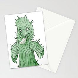 Anthropomorphic Cactus Stationery Cards