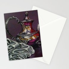 Still and red Glass Stationery Cards