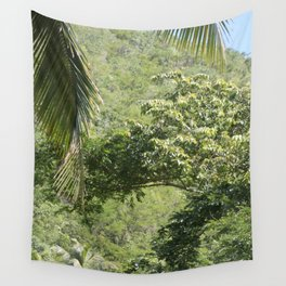 Jamaican hills Wall Tapestry