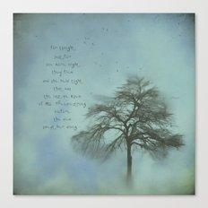 Ms. Treebestrong  Canvas Print