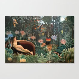 Henri Rousseau The Dream Canvas Print