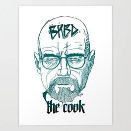 The Cook Art Print