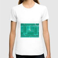 architecture T-shirts featuring ARCHITECTURE by BIGEHIBI