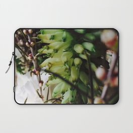 Succulent and Wildflowers Laptop Sleeve