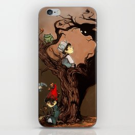 Over The Garden Wall- Wirt, Greg, Beatrice, and The Beast iPhone Skin