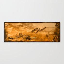 Journey of Australia Canvas Print