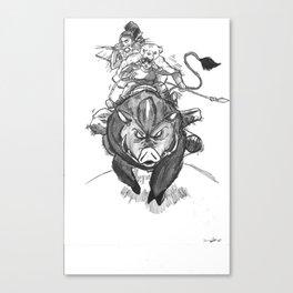 S1: Boar Hunters Canvas Print