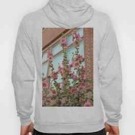 Pink Flowers on Vintage Vines Hoody