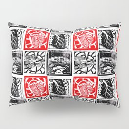 Heart Lung Liver Brain Pillow Sham