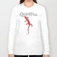 audi Long Sleeve T-shirts featuring Quattro by Pisthead