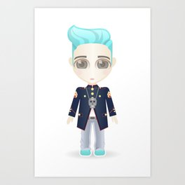 TOP from Bigbang Art Print