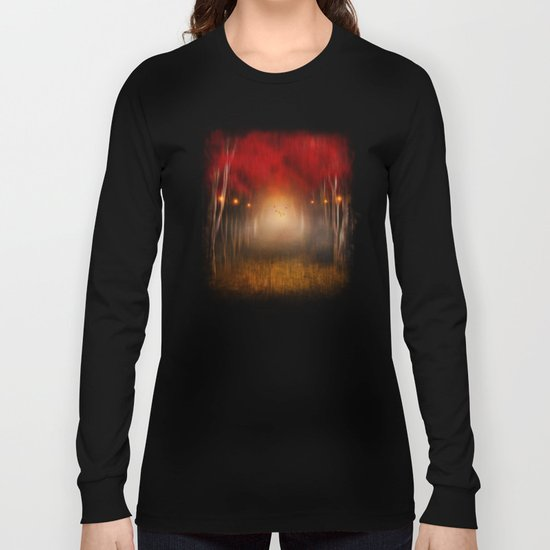 Red Melody Long Sleeve T-shirt